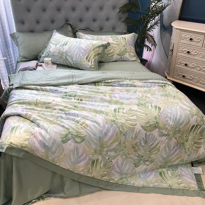 涞乐天丝夏被四件套双面莱赛尔纤维60支,夏被+床单+枕套一对,可单买 标准(200*230) 西亚