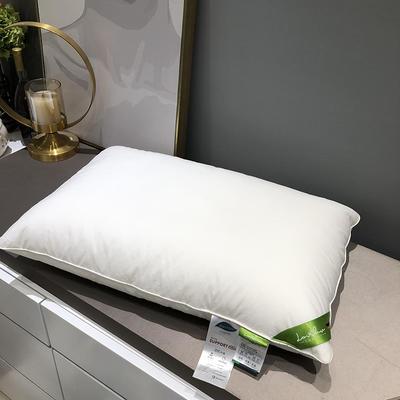 单人枕芯 羽丝绒枕真丝美颜枕杜邦纤维枕隔区记忆枕 杜邦记忆枕
