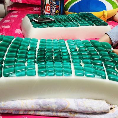 涞乐凝胶枕 蝴蝶状记忆枕40*60cm,6斤 绿色蝴蝶凝胶枕