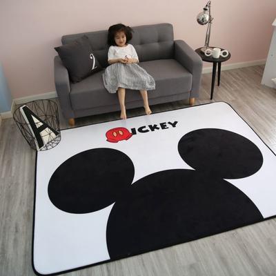 2020新款韩国四季绒慢回弹加厚儿童地垫 150*200cm 大头米奇