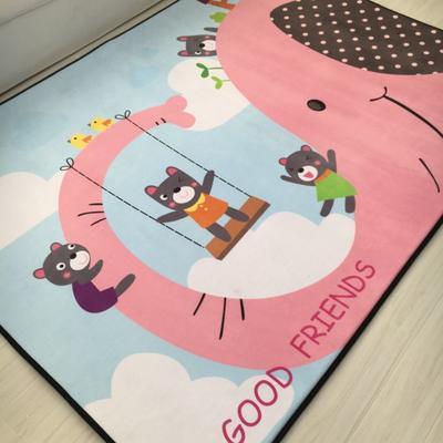 2020新款韩国四季绒慢回弹加厚儿童地垫 150*200cm 荡秋千