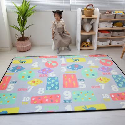 2020新款韩国四季绒慢回弹加厚儿童地垫 150*200cm 益智乐园