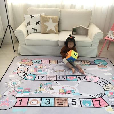 2020新款韩国四季绒慢回弹加厚儿童地垫 150*200cm 游戏垫