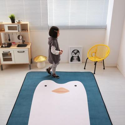 2020新款十色慢回弹地垫 150*200cm 大脸企鹅