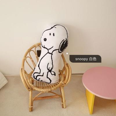 2020新款snoopy家族抱枕系列 异形抱枕 snoopy白色