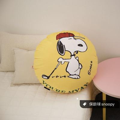2020新款snoopy家族抱枕系列 异形抱枕 保龄球snoopy