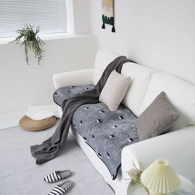 2020新款暖绒沙发垫 50*50cm 斗牛犬