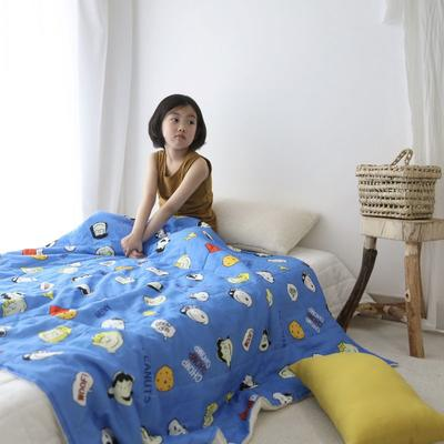 2020新款小清新ins纱布被 120x150cm 饼干sonnpy