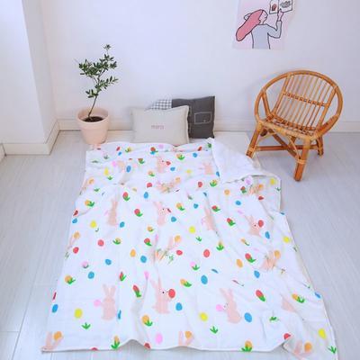2020新款小清新ins纱布被 120x150cm 小可爱