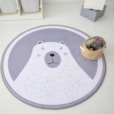 2020新款新款圆形慢回弹14色 80cm 瞌睡熊