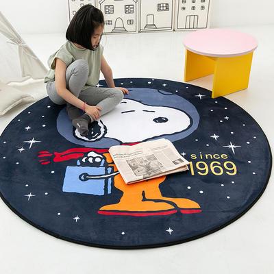 2020新款新款圆形慢回弹14色 80cm 宇航员snoopy