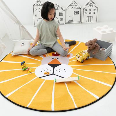 2020新款新款圆形慢回弹14色 40cm 柠檬狮子