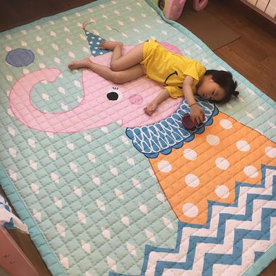 (总)飞达地垫 韩国儿童棉地垫常规厚度-长方形 1.5m*2.0m(正负5cm工差) 大象