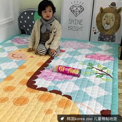(总)飞达地垫 韩国儿童棉地垫常规厚度-长方形 1.5m*2.0m(正负5cm工差) 长颈鹿