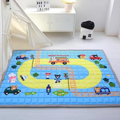 (总)飞达地垫 韩国儿童棉地垫常规厚度-长方形 1.5m*2.0m(正负5cm工差) 米奇小屋