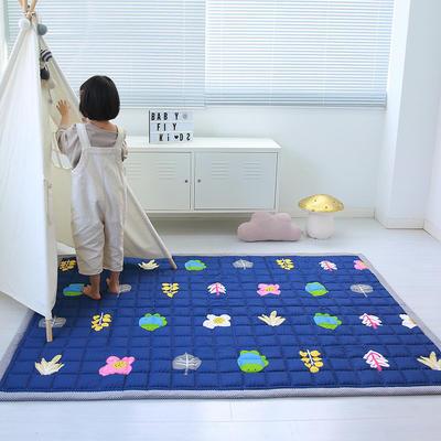 (总)飞达地垫 韩国儿童棉地垫常规厚度-长方形 1.5m*2.0m(正负5cm工差) 童年