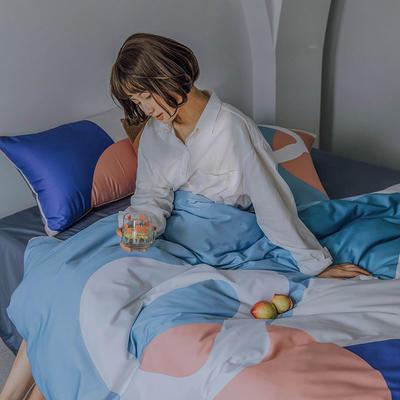2020新图款60长绒棉四件套套件 1.8m床单款四件套 柏林少女