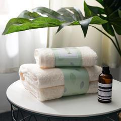 毛巾*2(36*74cm)+礼盒包装 米色