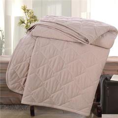 全棉彩棉针织绗缝夏被 彩棉填充 适合宝宝用的盖被 100x120cm 彩棉
