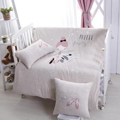 luck专版花型-针织棉芭蕾女孩婴童多件套 艾莉丝 灰 均码 艾莉丝 灰