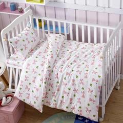 吉家 全棉加厚针织印花婴幼童床品套件 均码 小公主