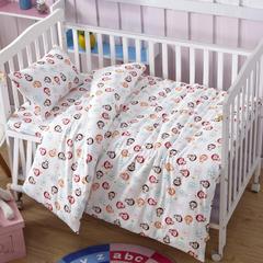 吉家 全棉加厚针织印花婴幼童床品套件 均码 萌猴