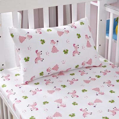 吉家 针织婴幼儿枕套送枕芯 狐狸的朋友