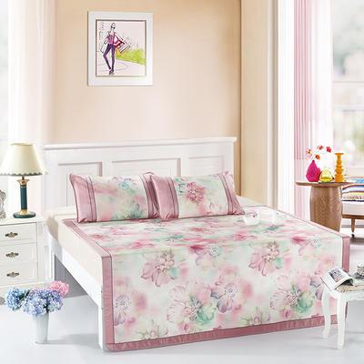 可水洗600D专利提花亚麻质感恒温软席 畅游紫 1.5m(5英尺)床 畅游紫