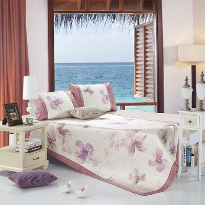 可水洗600D专利提花亚麻质感恒温软席 梦恋紫 1.5m(5英尺)床 梦恋紫