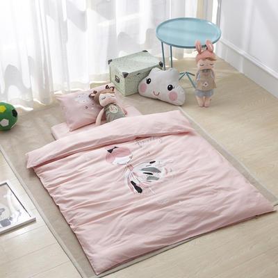 吉家专版花型 喷气丝光棉童趣系列 宝宝床 轻舞飞扬