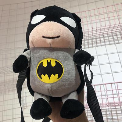 2020新款抖音网红快手-复仇者联盟小包包/只 毛绒玩具 23cm 蝙蝠侠