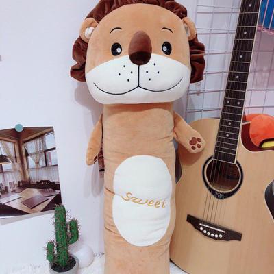 2020新款森林圆柱抱枕系列/个 毛绒玩具抱枕靠枕 90cm 狮子