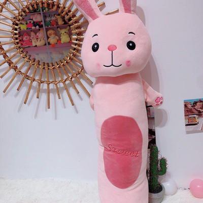 2020新款森林圆柱抱枕系列/个 毛绒玩具抱枕靠枕 90cm 兔子