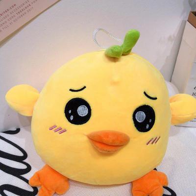 2020新款抱枕小号系列/只  毛绒玩具抱枕靠枕 约30cm 小萌鸡-大眼睛25cm