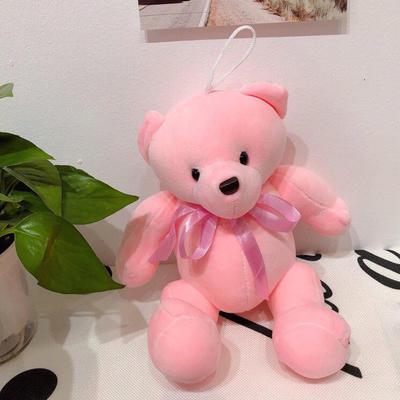2020新款抱枕小号系列/只  毛绒玩具抱枕靠枕 约30cm 关节熊-粉色30cm