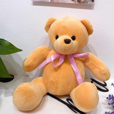 2020新款抱枕小号系列/只  毛绒玩具抱枕靠枕 约30cm 关节熊-咖色30cm