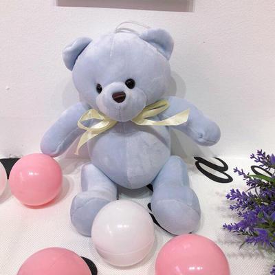 2020新款抱枕小号系列/只  毛绒玩具抱枕靠枕 约30cm 关节熊-蓝色30cm