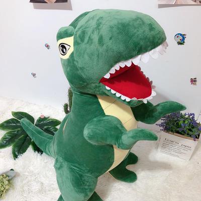 2020新款80cm系列毛绒玩具抱枕 80cm 恐龙-绿