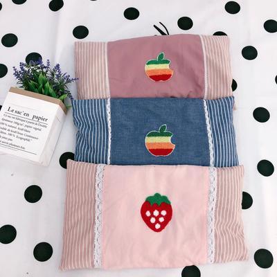 2020新款水洗棉儿童全小米壳枕头枕芯 30*50cm(20个起批)