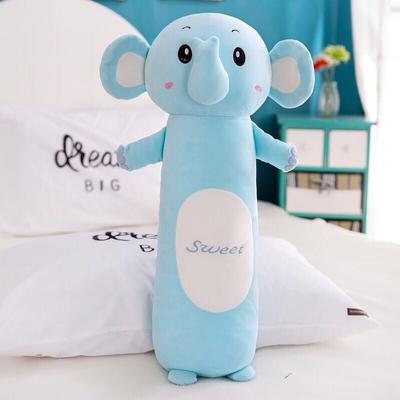 2020新款毛绒玩具治愈系动物抱枕-动物园五宝系列 90cm 大象
