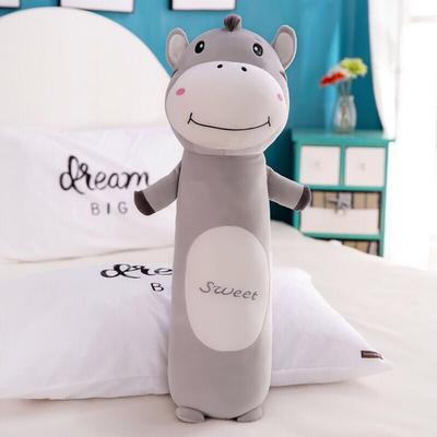 2020新款毛绒玩具治愈系动物抱枕-动物园五宝系列 90cm 驴驴