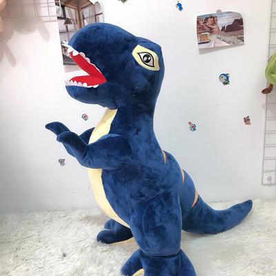 2020新款80cm系列毛绒玩具抱枕 80cm 恐龙-宝石蓝