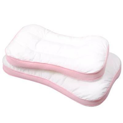 2020新款A类60支无荧光剂抗菌防螨儿童枕头枕芯 粉40*60cm