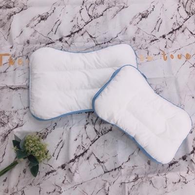 2020新款A类60支无荧光剂抗菌防螨儿童枕头枕芯 蓝30*50cm
