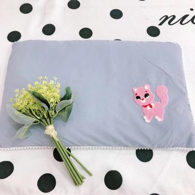 2020新款全棉荞麦壳枕头枕芯40*60cm/只 小狐狸-兰
