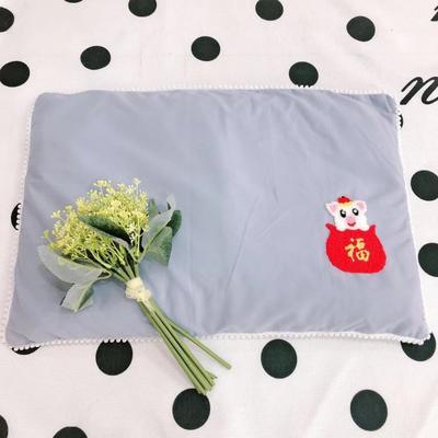 2020新款全棉荞麦壳枕头枕芯40*60cm/只 快乐小猪-兰