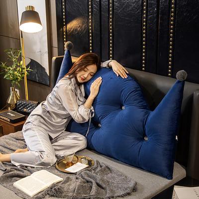 2020新款珍珠棉可拆卸靠背床靠垫靠垫床靠背-简爱系列 120x70cm 简爱-藏青