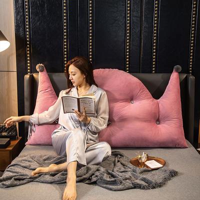 2020新款珍珠棉可拆卸靠背床靠垫靠垫床靠背-简爱系列 120x70cm 简爱-豆沙