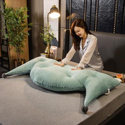 2020新款珍珠棉可拆卸靠背床靠垫靠垫床靠背-简爱系列 120x70cm 简爱-抹茶绿