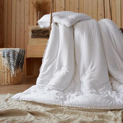 布拉格之恋冬被 220x240cm 白色